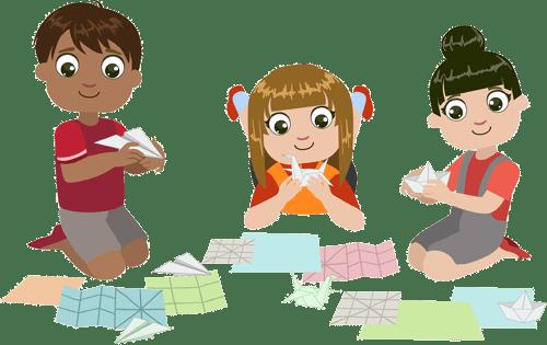 Бумагопластика, оригами}